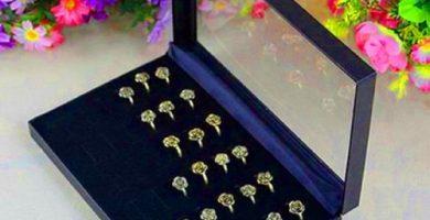 Organizador para anillos