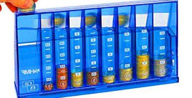 Organizador para monedas