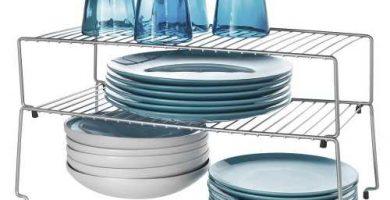 organizador platos vasos cocina