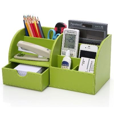 organizador color verde para escritorio